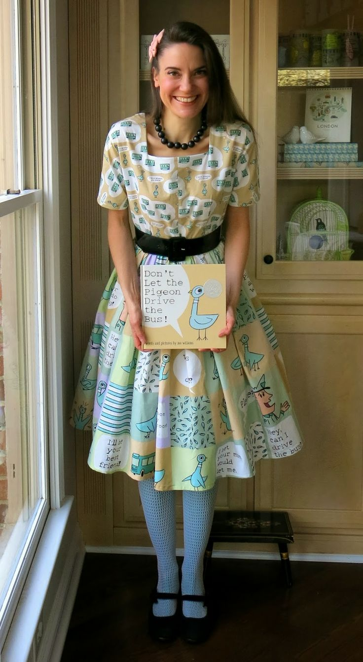 AMAZING Don't Let the Pigeon Drive the Bus! Dress #mowillems #suchenvy