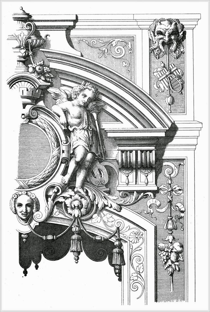 Мастерская резьбы по дереву Бароккос.: Орнамент для резьбы по дереву.