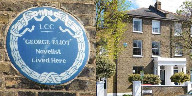 3. Just 13 percent of London's 902 blue plaques are dedicated to women, with 13 of the  boroughs having none at all. Walking through Wandsworth you might spot a familiar name – George Eliot 1819-1880 – Novelist. But the author of Middlemarch, Silas Marner and Daniel Deronda, amongst other classics had to take on a male name in order to be considered by publishers. Her real name was Mary Anne Evans.