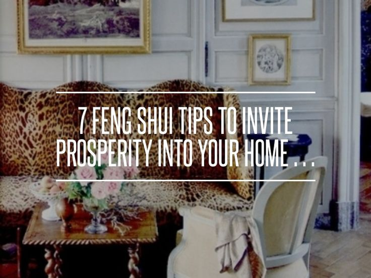 7 Feng Shui Tips to #Invite Prosperity into Your Home … → #Health #Elements