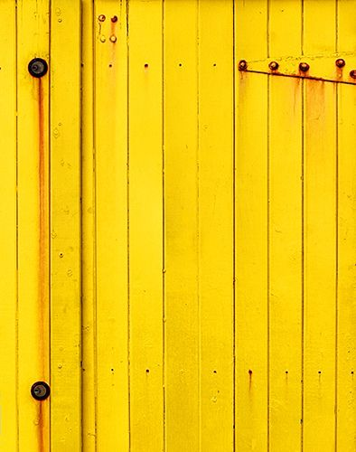 a1660 Weathered Yellow | The brightly yellow wooden wall of … | Flickr