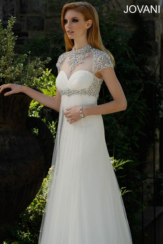 Jovani Wedding Dress JB310005;;; can be found at Jan's Boutique in Cherry Hill, Irma's Bridal in Cherry Hill & Jay West Imports in Haddonfield,