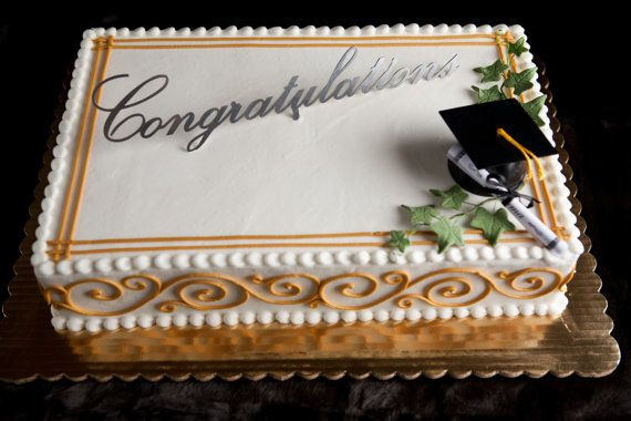 Items similar to Congratulations Cake Topper on Etsy