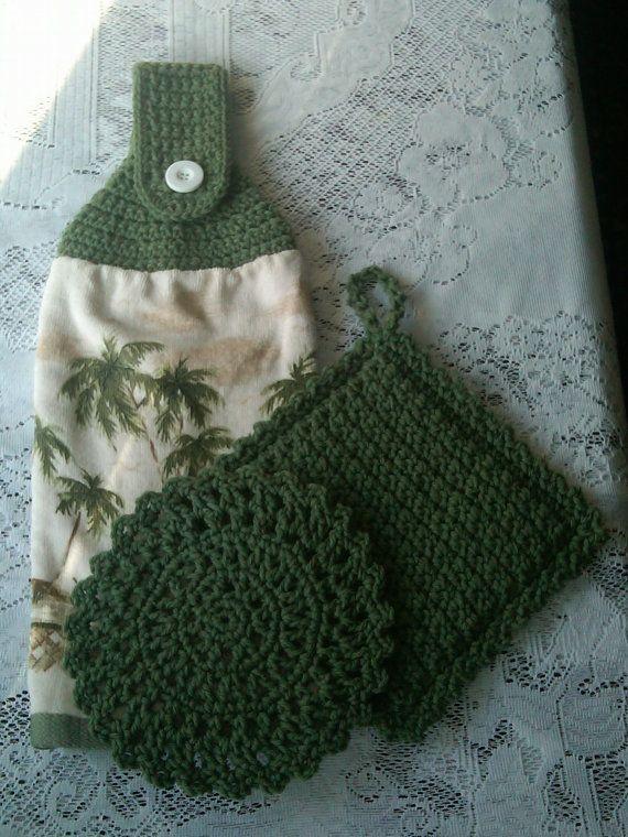 Kitchen Crochet Set