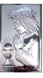 Prezent na Komunię dla dziewczynki - Obrazek Pamiątka komunii - (VL#804) Pasaż Handlowy