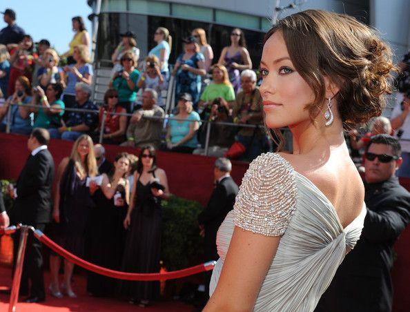 Olivia Wilde: Primetim Emmy, Acra Gowns, Wild Cap, Reem Acra, Emmy Awards, Cap Sleeve, Prom Dresses, Olivia Wild, Red Carpets Dresses
