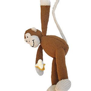 Knit a monkey: free pattern