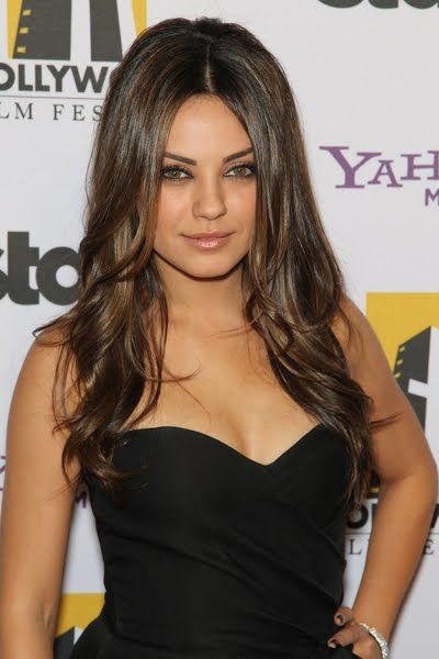 Mila Kunis love her! Girl crush, and I wish I looked like her lol