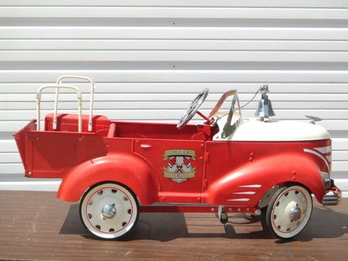 Gendron Pedal Fire Truck
