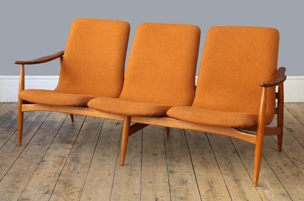 Louis Van Teeffelen Three Seater Sofa