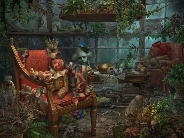 Hidden Object Games Artwork on Behance