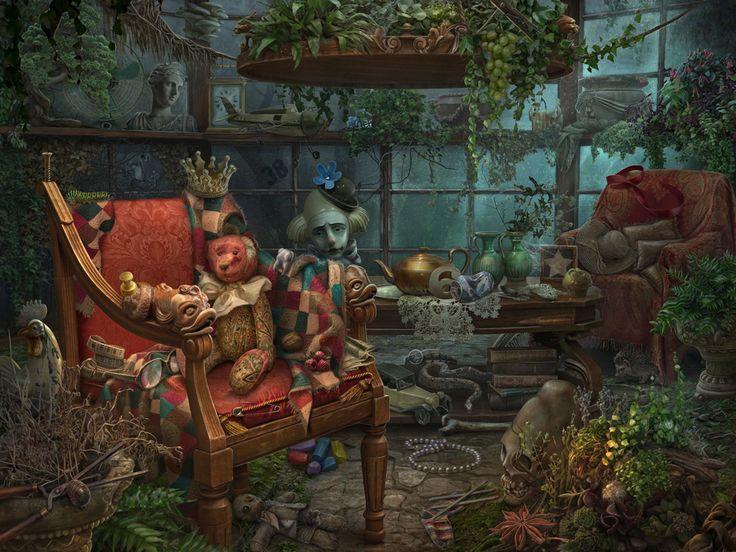 Hidden Object Games Artwork on Behance