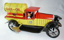 Giocattolo VINTAGE latta Camion cisterna. COLLECTOR VINTAGE TIN TOY  TINPLATE