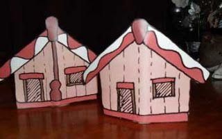 Maori Printables: Marae Paper Toy