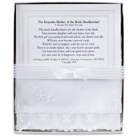Mother of the Bride's Keepsake Hankie