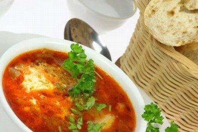 Solianka - zupa rosyjska wg Gessler © JupiterImages - Solianka zupa GESSLER