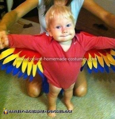 Coolest+Parrot+Infant+Costume