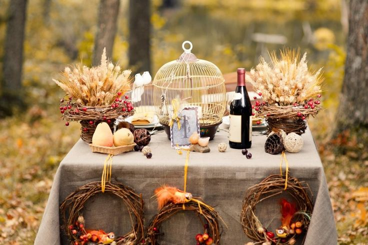 Осенняя свадьба! Советы от Catalina