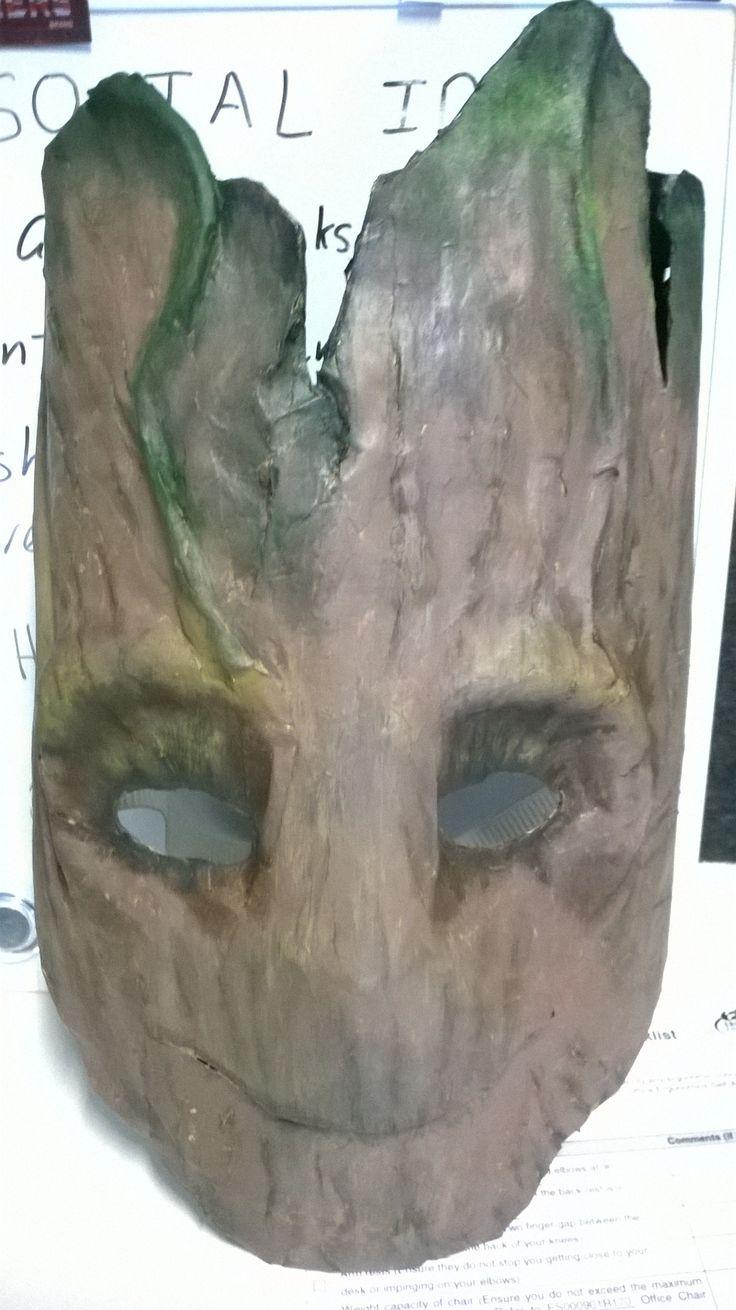 36 best brown bag masks diy images on pinterest carnivals crafts this is a groot mask that i made over a 2 white paper eye mask from fandeluxe Gallery