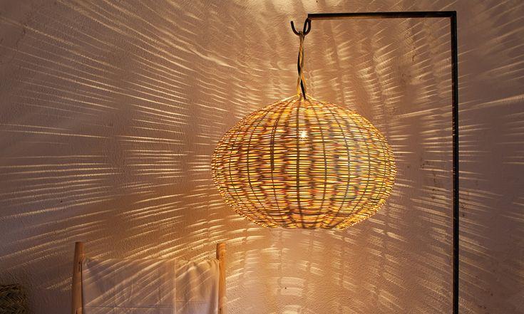 En verano muebles de mimbre l mparas iluminaci n for Tipos de tresillos