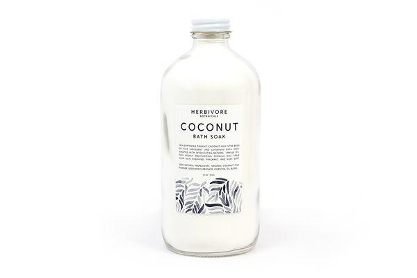 how to make coconut milk bath soak