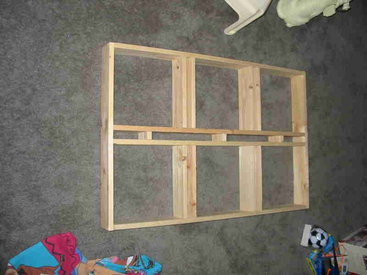 idea of recessed shelves for tvstereo components tv