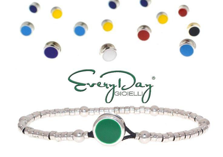#miappartieni Verde come il colore della stabilità della forza e della saggezza. Scopri su==> www.everydaygioielli.it il tuo #colore.