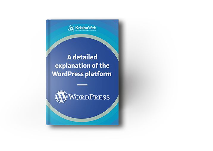 """The eBook – """"A Detailed explanation on WordPress Platform"""" has covered mainly all the points to get started with WordPress.  #wordpress #marketing"""