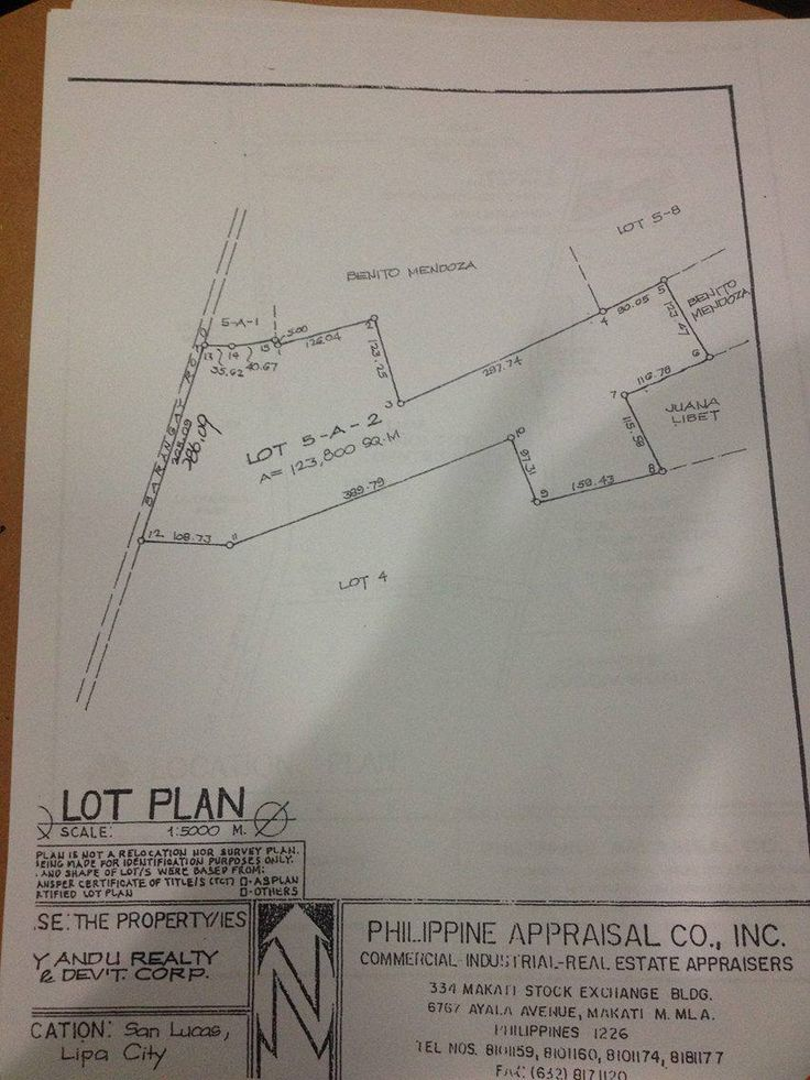 LOCATION = Barangay San Lucas, Lipa City; AREA = 123, 800 square meters (12.3800 Has.); PROPERTY TYPE = Agricultural Land; ENVIRONMENT = Property is accessible via existing concrete barangay road.  It is situated behind an #IndustrialPark and an existing subdivision.  #BatangasDirectListings #CalabarzonDirectListings #PropertiesForSale #WantedToSell