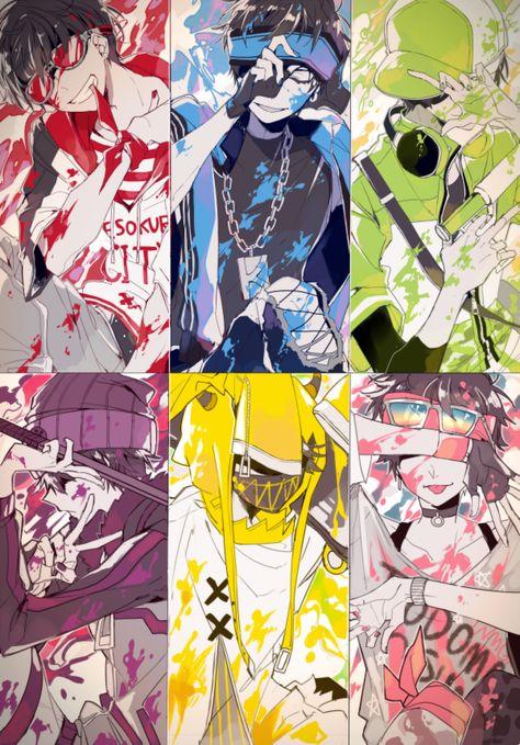 Color ganag series >_<