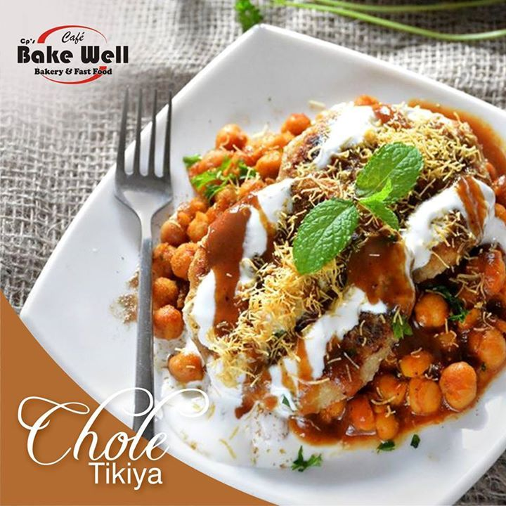 Experience the Tremendous taste of  #CholeTikiya  at #Cafe #Bakewell . #chaat #joy #happiness #frienship #friend #cp #bakewell - http://ift.tt/1HQJd81