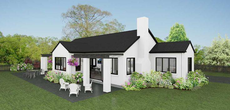 Riviera 3 bedroom house design Landmark Homes builders NZ