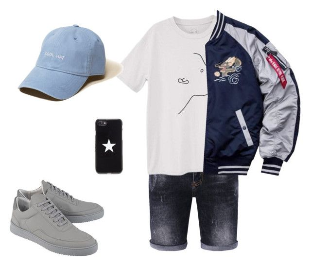 """Untitled #11"" by ithaafifah on Polyvore featuring MANGO, Alpha Industries, Givenchy, Hollister Co., Filling Pieces, men's fashion and menswear"