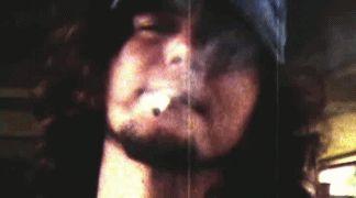 eddie vedder smoking.