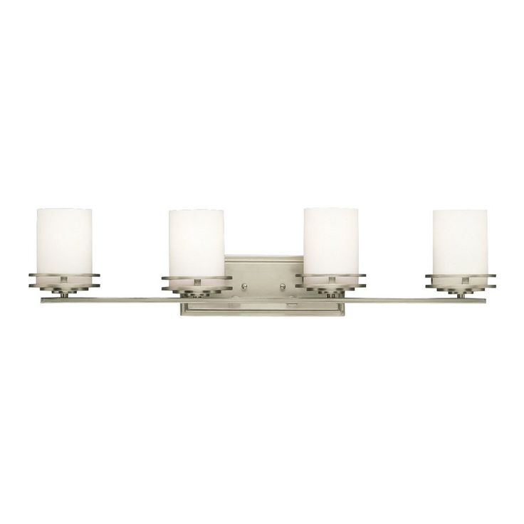 Kichler Lighting 4-Light Hendrik Brushed Nickel Modern Vanity Light