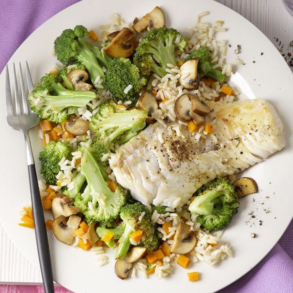 Kabeljauw met groenten als diner #PowerStart #WWrecept #WeightWatchers