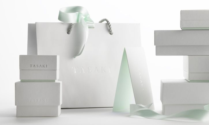Tasaki - Identity and packaging for Japanese luxury jewellery brand