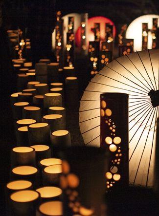 美しすぎる熊本の風景!「山鹿灯籠浪漫・百華百彩」の灯りに魅せられる