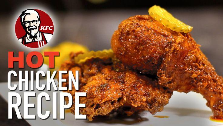 264 best youtubehellthyjunkfood images on pinterest food how to make kfc nashville hot chicken hellthyjunkfood forumfinder Images