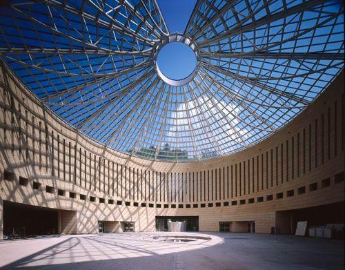 #Mart #Cupola #Rovereto Museo d'Arte moderna e contemporanea di Rovereto e Trento progettato da Mario Botta. Al suo interno presenta esposizioni temporanee di arte moderna e contemporanea e numerose retrospettive sull'arte futurista.