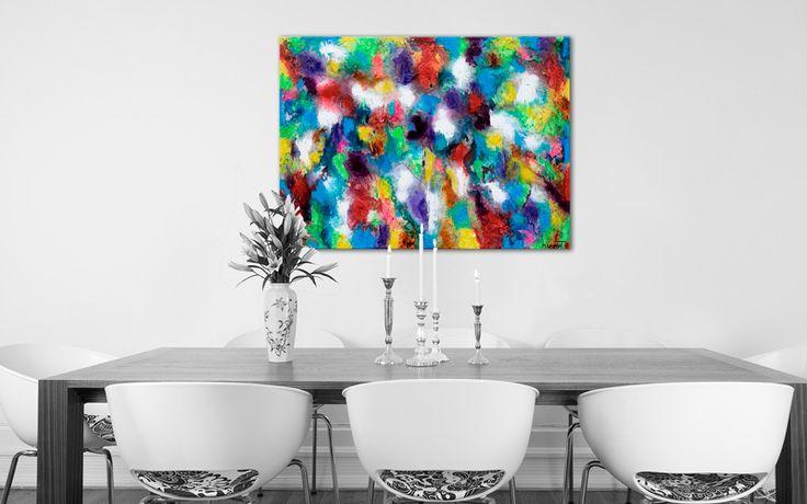 HOME DECOR WITH PAINTINGS !  Alteration III  My website: https://artbylonfeldt.dk/  #art #arts #paintings #painting #fineart #artbylonfeldt