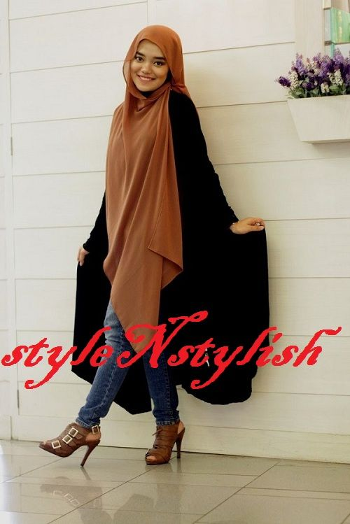 Hijab With Jeans Superb combination Fashion 2015-16