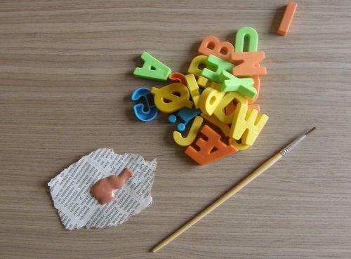 Pimp your Magnetic letters!