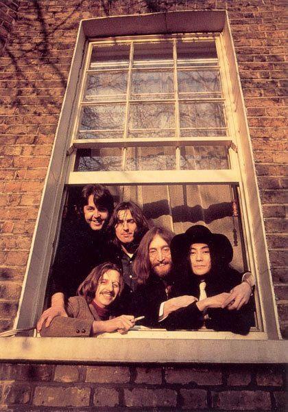 The Beatles and Yoko x