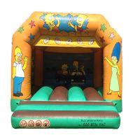 simpsons bouncy castle