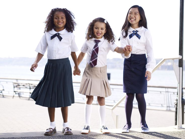 School uniforms come in all sizes....