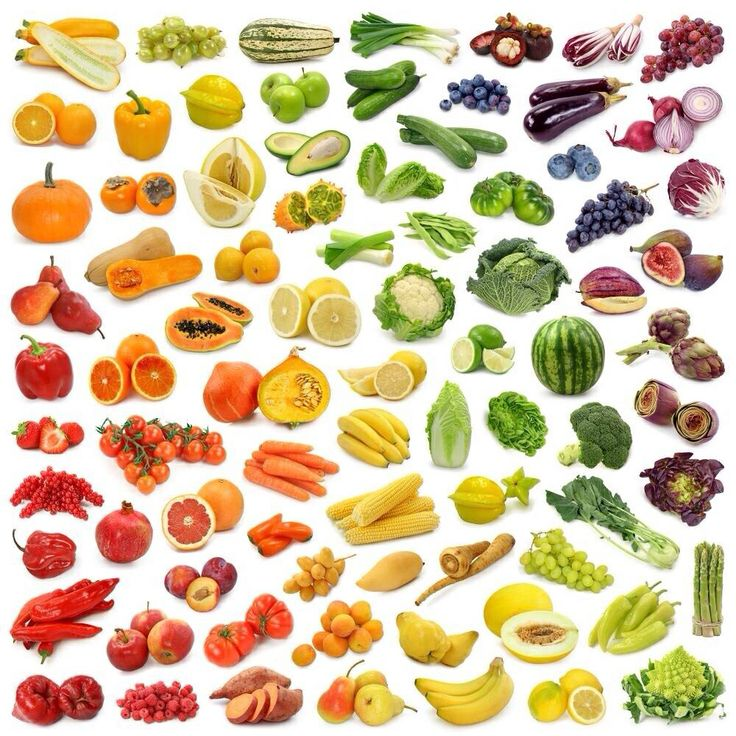 Eat your greens. And reds, yellow and violets too.