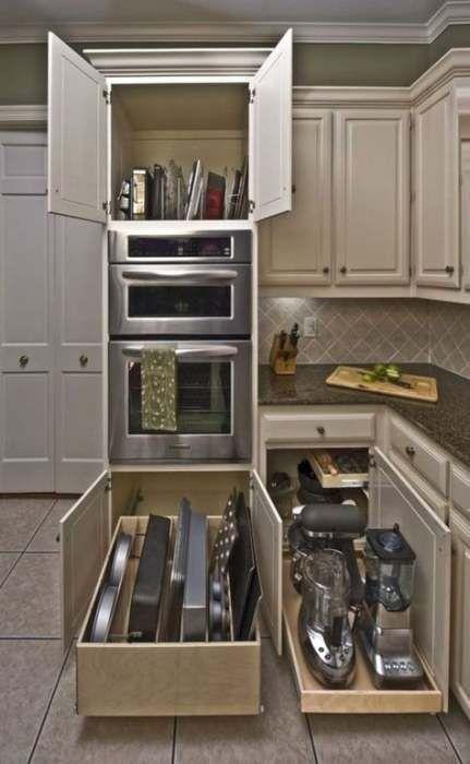 super deep kitchen cabinet organization organizing ideas 70 ideas kitchen organization on kitchen counter organization id=39181