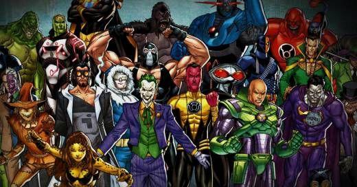 The Best Comic Book Villains