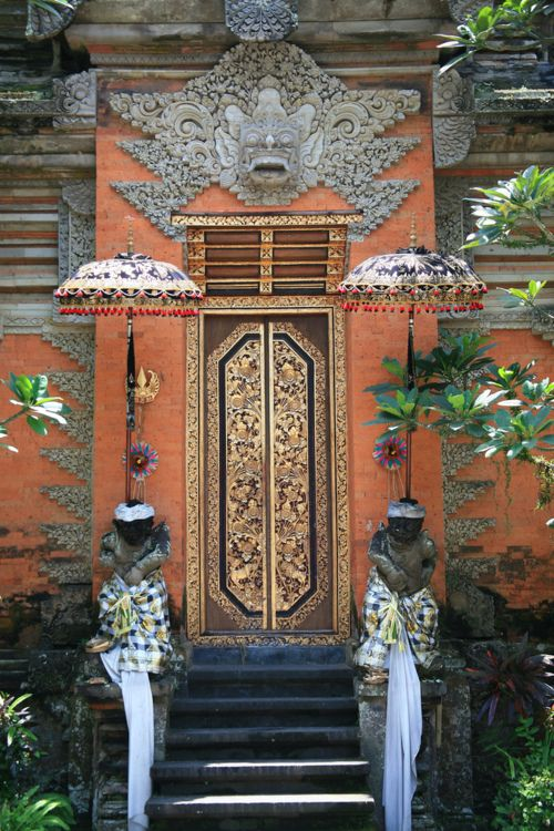 Ubud, Indonesia.  Ubud is a town on the Indonesian island of Bali in Ubud District, located amongst rice paddies and steep ravines in the central foothills of the Gianyar regency. One of Bali's major arts and culture centres, it has developed a large tourism industry.